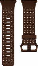 Fitbit Ionic Lederen Horlogeband Bruin L