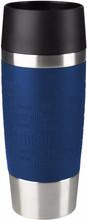 Tefal Travel Mug 0,36 liter RVS/blauw