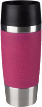 Tefal Travel Mug 0,36 liter RVS/raspberry