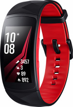 Samsung Gear Fit 2 Pro Zwart/Rood S BE