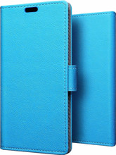 Just in Case Wallet Y6 Pro (2017) Book Case Blauw