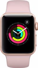 Apple Watch Series 3 38mm Goud Aluminium/Roze Sportband