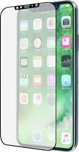 Azuri iPhone X Screenprotector Curved Gehard Glas Duo Zwart