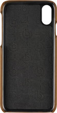Bugatti Londra iPhone X Back Cover Bruin
