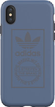 adidas Techink iPhone X Back Cover Blauw