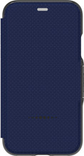 GEAR4 D3O Oxford iPhone X Book Case Blauw