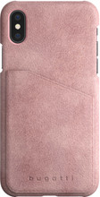 Bugatti Londra Ultrasuede iPhone X Back Cover Roze