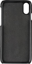 Bugatti Londra iPhone X Back Cover Zwart