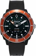 Alpina Seastrong Horological Hybrid Zwart/Oranje