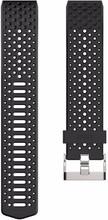 Fitbit Charge 2 Kunststof Horlogeband Zwart Large