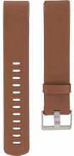 Fitbit Charge 2 Lederen Horlogeband Bruin Small