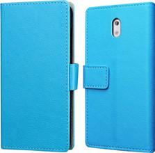 Just in Case Wallet Nokia 3 Book Case Blauw