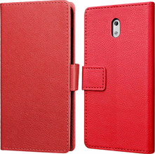 Just in Case Wallet Nokia 3 Book Case Rood