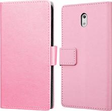 Just in Case Wallet Nokia 3 Book Case Roze