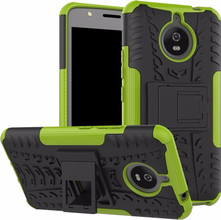 Just in Case Rugged Hybrid Moto E4 Plus Back Cover Groen
