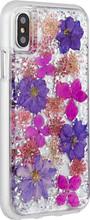 Case-Mate Karat Petals iPhone X Back Cover Paars