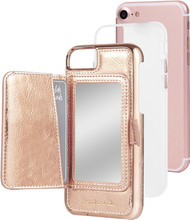 Case-Mate Compact Mirror iPhone 7/8 Back Cover Rose Gold