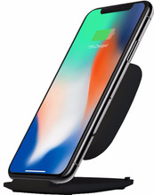 ZENS Fast Wireless Charger Stand 15W Zwart