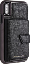 Case-Mate Compact Mirror iPhone X Back Cover Zwart