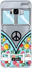 GoCase TPU Galaxy S8 Back Cover Blue Kombi
