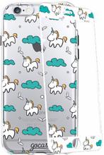 GoCase Kit iPhone 6+/6s+ Full Body Unicorns