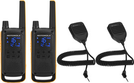 Motorola Talkabout T82 EXTREME Twin Pack + handmicrofoon