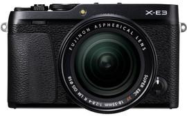 Fujifilm X-E3 Zwart + XF 18-55mm f/2.8-4.0 R LM OIS