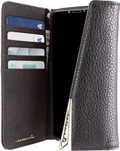 Case-Mate Wristlet Folio iPhone X Book Case Zwart