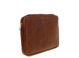 Plevier Lederen Laptop Sleeve 14'' Cognac
