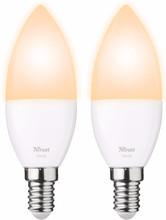 Trust Smart Home E14 Losse Lamp Duopack
