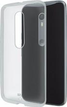 Azuri Glossy TPU Moto X Style Back Cover Transparant