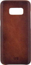 Senza Desire Leather Galaxy S8 Back Cover Bruin
