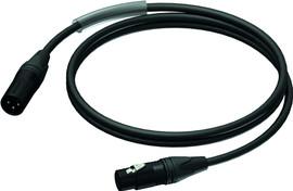 ProCab PRA901 XLR-kabel 1 meter