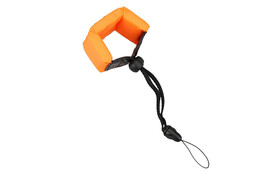 JJC Floating Foam Wrist Strap Orange