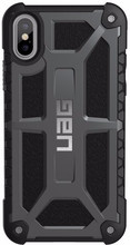 UAG Monarch iPhone X Back Cover Donkergrijs