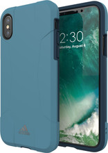 Adidas SP Solo iPhone X Back Cover Blauw