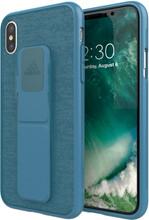 Adidas SP Grip iPhone X Back Cover Blauw