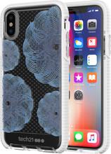 Tech21 Evo Check Evoke iPhone X/Xs Back Cover Blauw