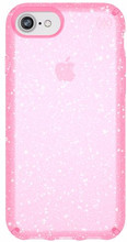 Speck Presidio Glitter iPhone 8 Back Cover Roze