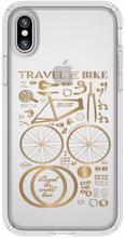 Speck Presidio CityBike iPhone X Back Cover Transparant