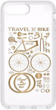 Speck Presidio CityBike iPhone 8 Plus Back Cover Transparant