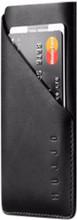 Mujjo Leather Wallet Sleeve iPhone X Pouch Zwart