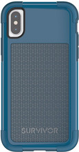Griffin Survivor Fit iPhone X Back Cover Blauw