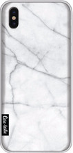 Casetastic Softcover iPhone X White Marble