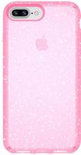 Speck Presidio Glitter iPhone 8 Plus Back Cover Roze