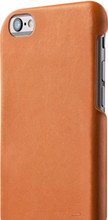 Mujjo Leather iPhone 7/8 Back Cover Goud