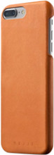 Mujjo Leather iPhone 7+/8+ Back Cover Bruin