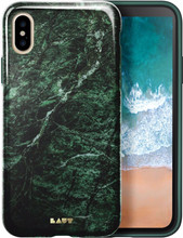 Laut Huex Marble iPhone X Back Cover Groen
