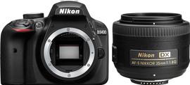 Nikon D3400 + AF-S 35mm f/1.8