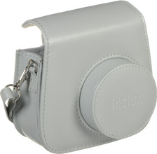 Fuji Instax Mini 9 Case Smokey White
